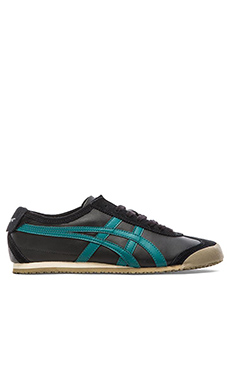 Onitsuka Tiger Mexico 66 in Black & Shaded Spruce