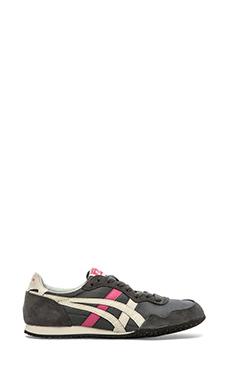 Onitsuka Tiger Serrano Sneaker in Dark Grey & Off White