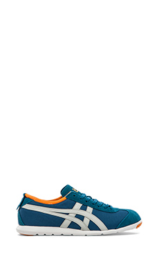 Onitsuka Tiger Rio Runner Sneaker in Seaport & Light Grey
