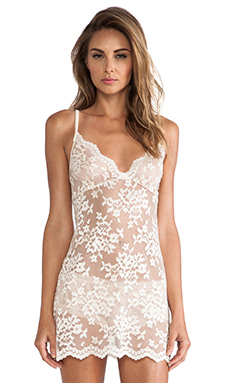 Only Hearts Georgia Chemise in Creme