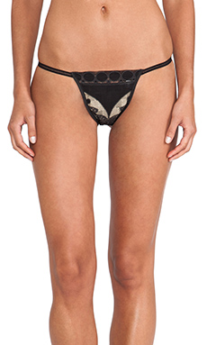 Only Hearts Lace Underwear in Black