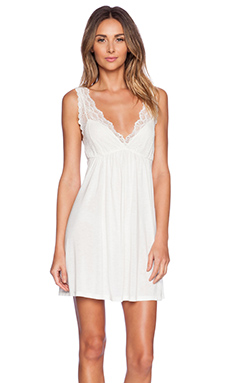 Only Hearts Venice Tank Chemise in Antique White