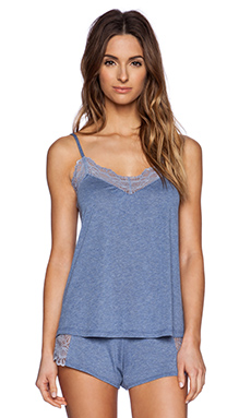 Only Hearts Venice Low Back Cami in Denim