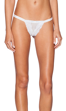 Only Hearts Lace Underwear in White & Blue
