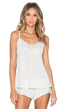 Only Hearts Low Back Cami in Opal Heather