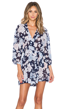 Only Hearts Kimono in Rambling Rose