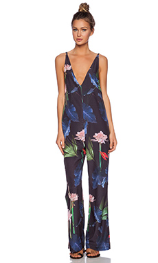 OSKLEN Emperor Floral Overall in Multi
