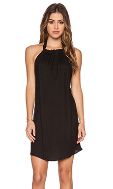 Otis & Maclain Evelyn Mini Dress in Black Oval
