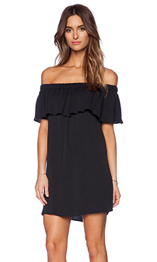 Otis & Maclain Senorita Dress in Black Oval