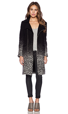 Otis & Maclain Midi Brooklyn Jacket in Leopard