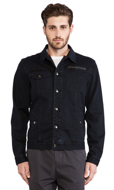 ourCASTE Horace Jacket in OD Indigo