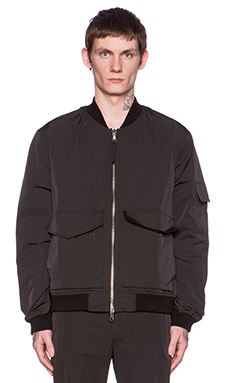 Our Legacy Patch Pocket Bomber in Black