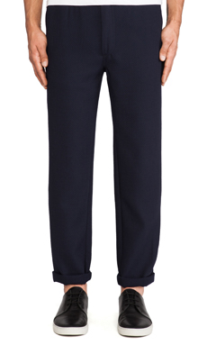 Our Legacy Relaxed Trousers in Navy