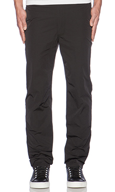 Our Legacy Relaxed Linen Trouser in Black