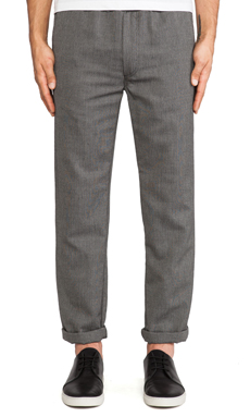 Our Legacy Relaxed Trouser in Natural Herringbone