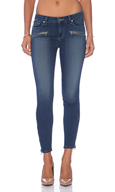 Paige Denim Jane Zip in Easton