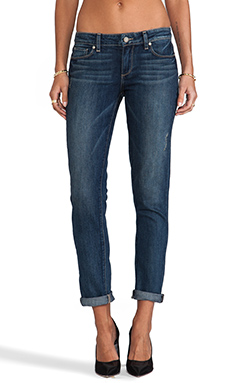 Paige Denim Skyline Ankle Peg in Augusta