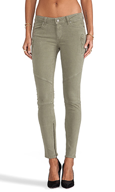 Paige Denim Marley Skinny in Army Green