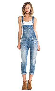Paige Denim Sierra Overall in Sunbaked