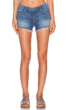 Paige Denim Keira Denim Short in Robyn