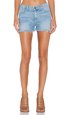 Paige Denim Callie Denim Short in Serena