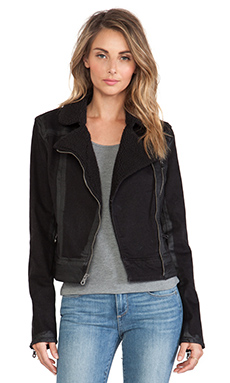 Paige Denim Sydney Denim Jacket in Night Flight