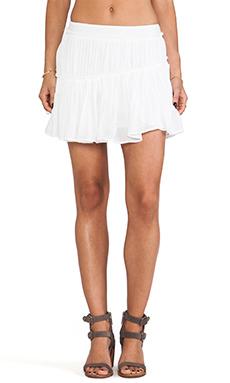 Paige Denim Mari Skirt in White Cloud