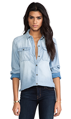 Paige Denim Aria Shirt in Mia
