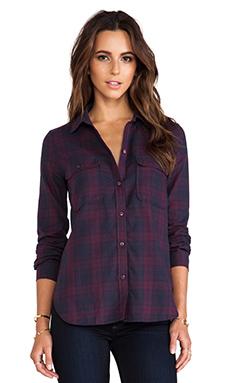 Paige Denim Trudy Shirt in Purple Dusk