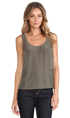 Paige Denim Kaylee Top in Olive