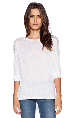 Paige Denim Tati Top in Optic White