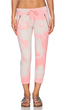 Pam & Gela Betsee Sweatpant in Watermelon Tie Dye