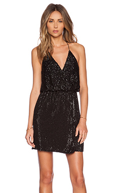 Parker Black Catarina Sequin Dress in Black