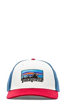Patagonia '73 Logo Roger That Hat in White