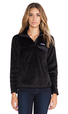 Patagonia Re-Tool Snap-T Pullover in Black