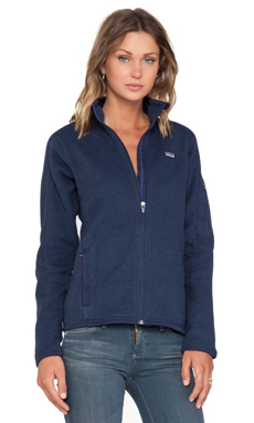 Patagonia Better Sweater Jacket in Classic Navy