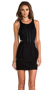 PJK Patterson J. Kincaid Minx Dress in Moonless Night