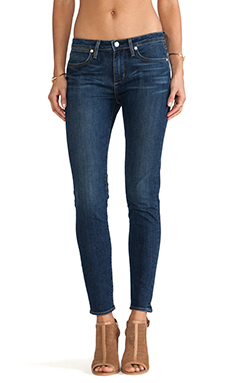 Paper Denim & Cloth FLX Ankle Skinny in Paper Wash Dark