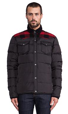 Penfield Rockford Lightweight Down Jacket in Black