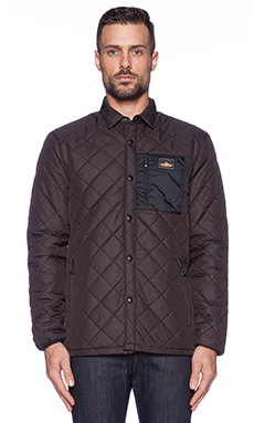 Penfield Courtland Shirt Jacket in Black