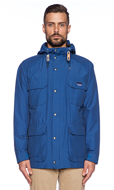 Penfield Kasson Parka in Cobalt