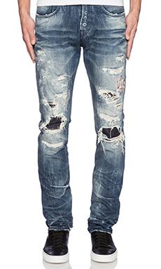 PRPS Goods & Co. Altered Images Demon Fit Jean in Blue