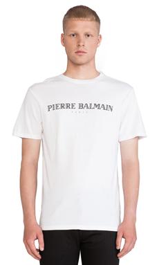 Pierre Balmain Tee in White