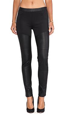 Pink Stitch Torino Pant in Black