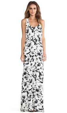 Parker Cassie Dress in Black Magnolia