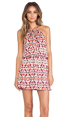 Parker Fleur Dress in Picasso Aztec