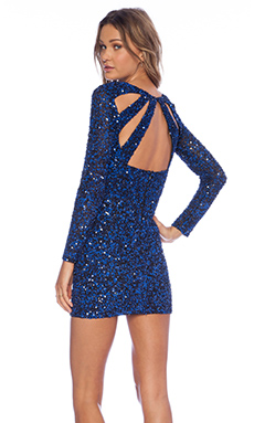 Parker Mariel Sequin Dress in Hydro