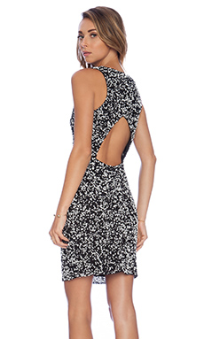 Parker Haiti Sequin Dress in Black & White
