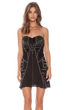 Parker Francine Dress in Black