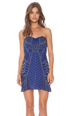 Parker Francine Sequin Dress in Ultra Marine